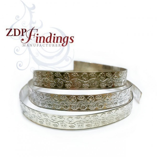 12 Inch Gallery Wire 935 Sterling Silver , 8x0.8mm