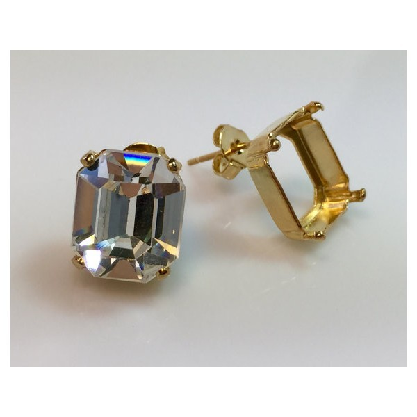 14x10mm 4610 Swarovski Post Earrings