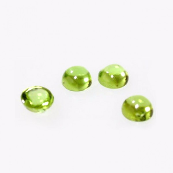 Peridot Round Cabochon, Choose your size.