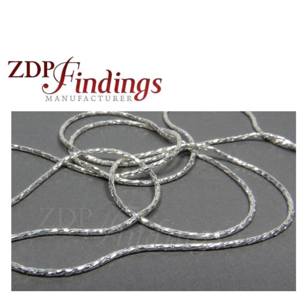 1mm Sterling Silver Chain Cardano