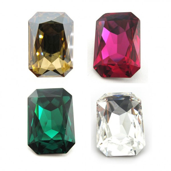 27x18.5mm 4627 Swarovski Octagon  , Choose your color