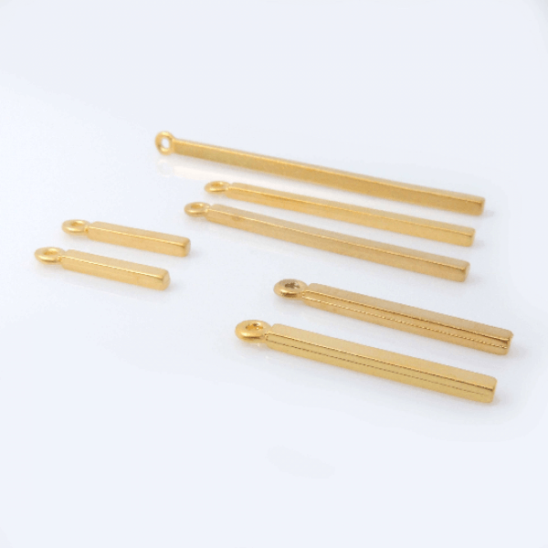 Set 6pcs Bar Pendant Necklace
