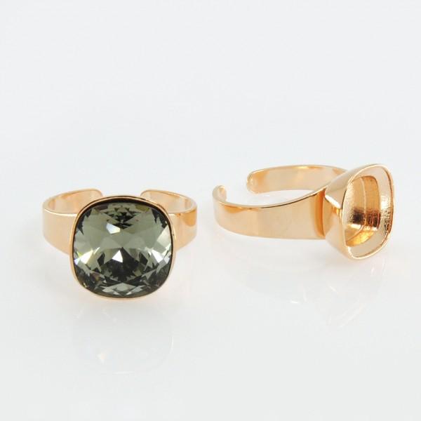 12mm Ring For Gluing Swarovski 4470