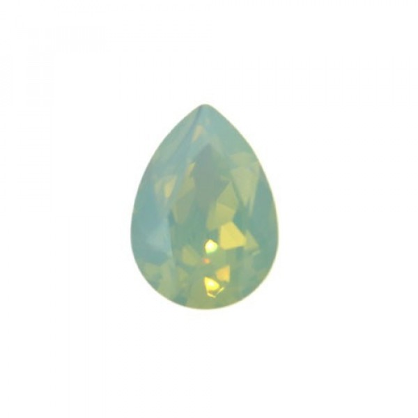 Pear Swarovski 4320 14x10mm Christolite opal