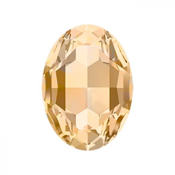 Oval swarovski stone 4120 18x13mm Light Colorado topaz