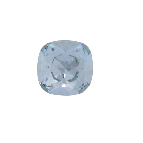 12mm 4470 Swarovski Square Cushion Cut Crystal, Choose your color-Light Azore