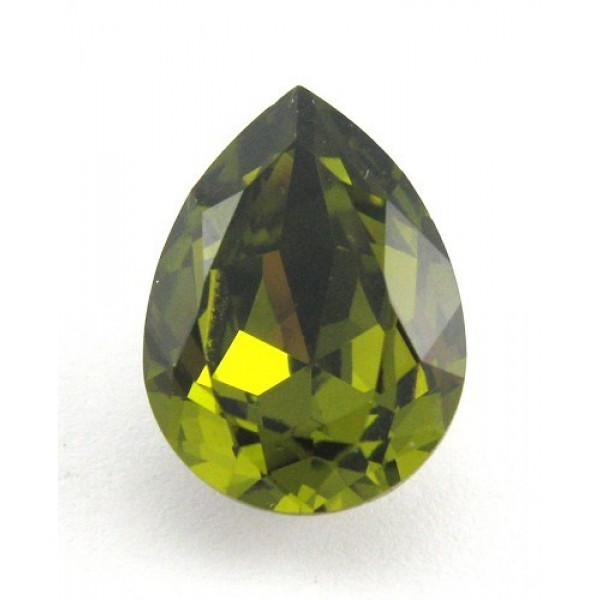 18x13mm 4320 Swarovski Pear Olivine