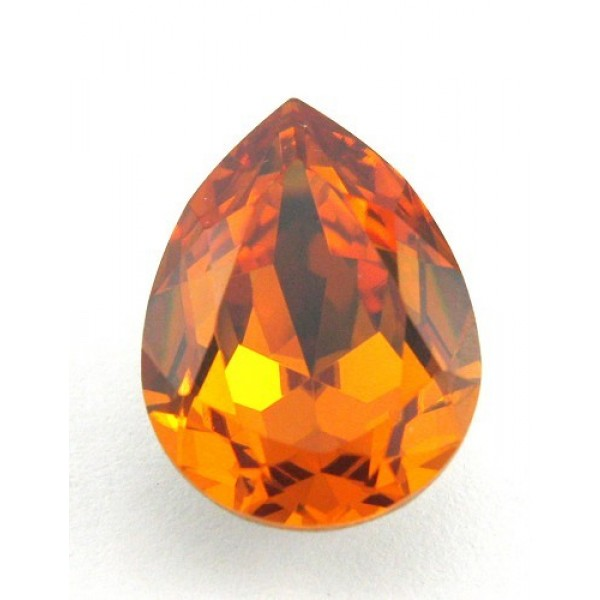 18x13mm 4320 Swarovski Pear Topaz