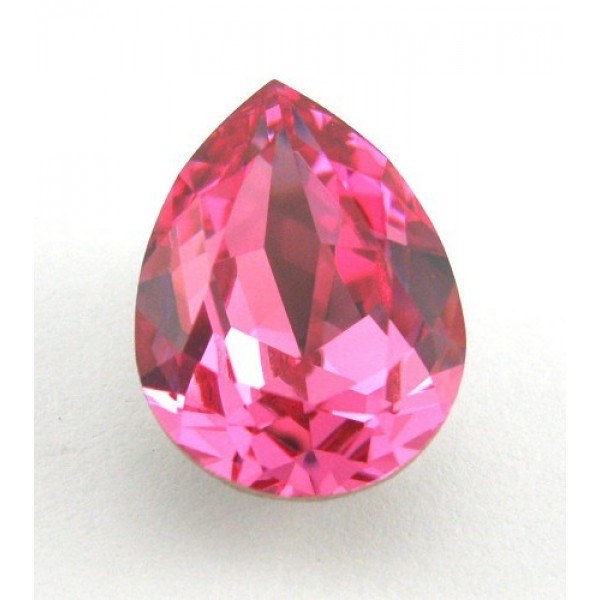 18x13mm 4320 Swarovski Pear Rose