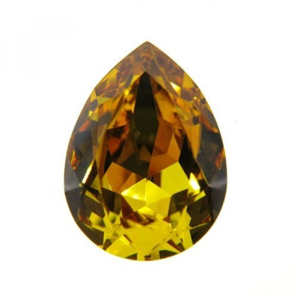 18x13mm 4320 Swarovski Pear Sunflower