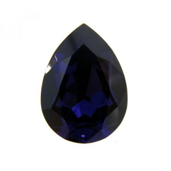 18x13mm 4320 Swarovski Pear Purple Velvet