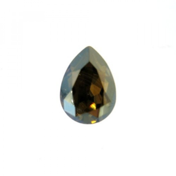 14x10mm 4320 Swarovski Pear Blue Shade