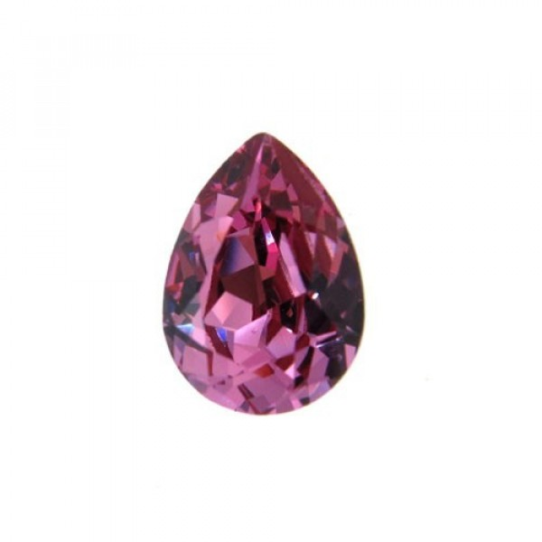 14x10mm 4320 Swarovski Pear Rose