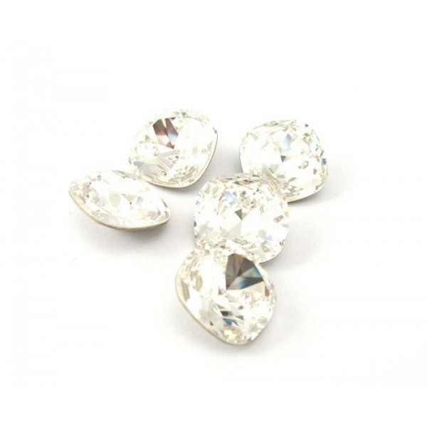 8mm 4470 Swarovski Square (cushion), Choose your color-Crystal