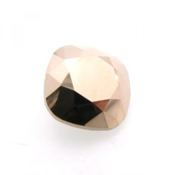 12mm 4470 Swarovski Rose Gold Square Cushion Cut Crystal