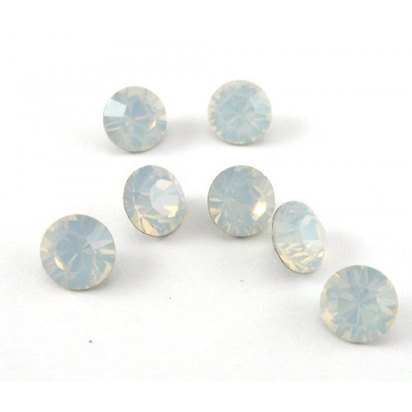 ss29 1088 Swarovski Crystal Rock White Opal