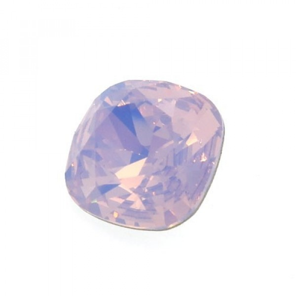 12mm 4470 Swarovski Rose Water Opal Square Cushion Cut Crystal