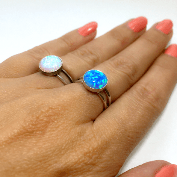 Round 12mm Adjustable Ring Setting