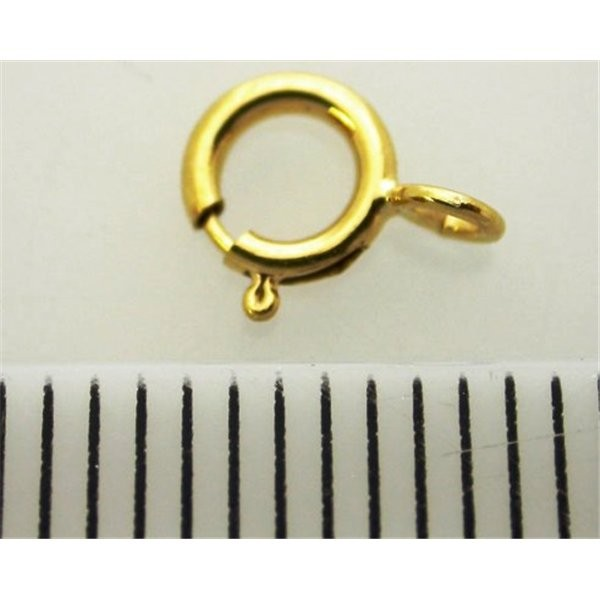 5mm Gold filled Spring ring clasps