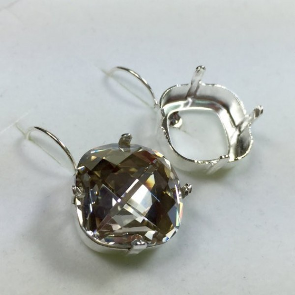 16mm 4461 Swarovski Lever back Earrings, Choose your options