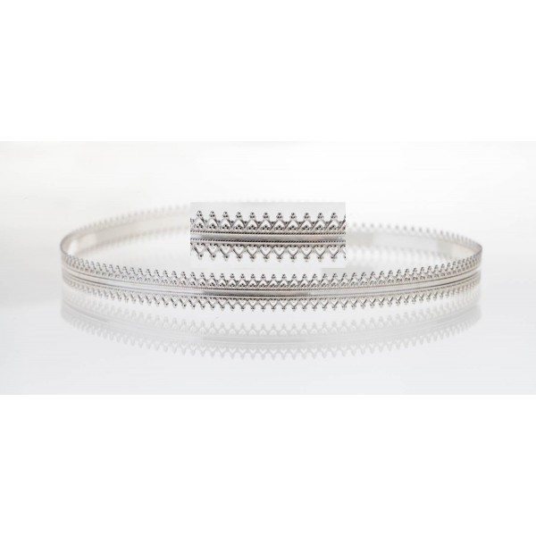 12 Inch Gallery Wire 935 Sterling Silver , 8.7x0.6mm