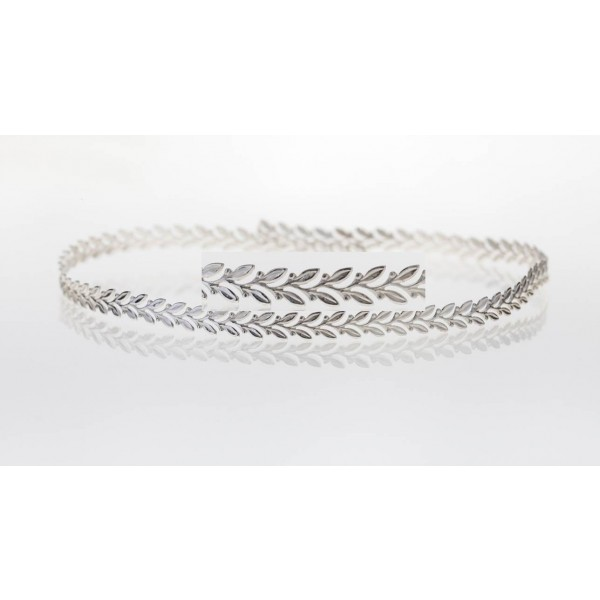 12 Inch Gallery Wire 935 Sterling Silver , 5x0.7mm