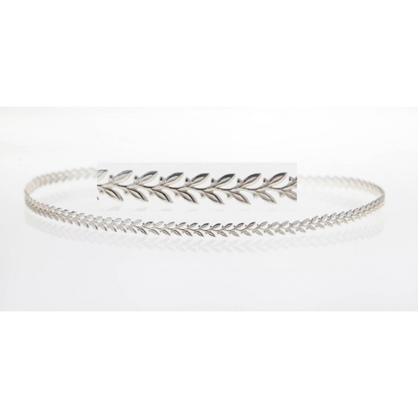 12 Inch Gallery Wire 935 Sterling Silver , 4.2x0.7mm