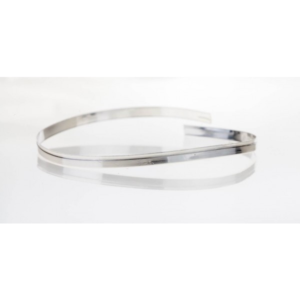 12 Inch Gallery Wire 935 Sterling Silver , 5.2x0.6mm