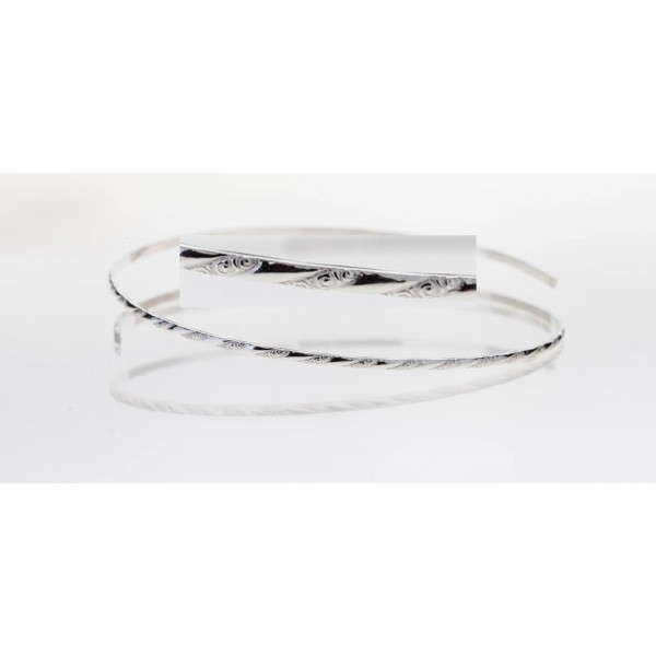 12 Inch Gallery Wire 935 Sterling Silver , 1.6x1mm