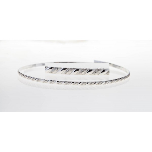 12 Inch Gallery Wire 935 Sterling Silver , 3.4x1.6mm