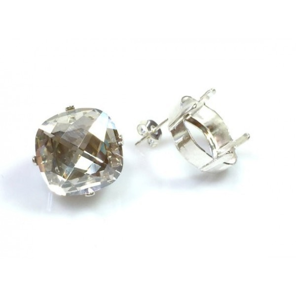 16mm 4461 Swarovski Post Earrings, Choose your options