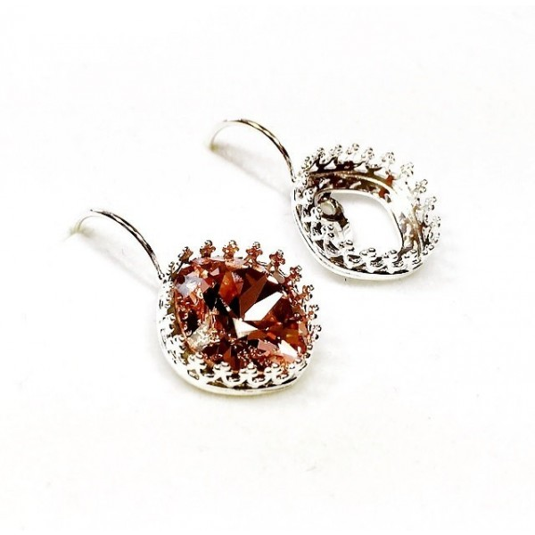 12mm Leverback Earring, Choose your finish.