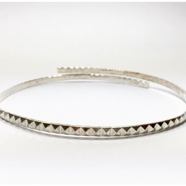 12 Inch Gallery Wire 935 Sterling Silver , 3.3x2mm