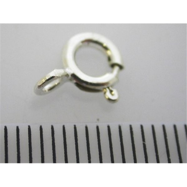 6mm 925 Sterling silver Spring ring
