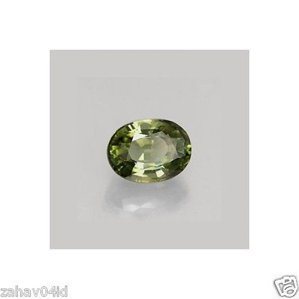 6X4mm Oval Faceted Natural Green Tourmaline
