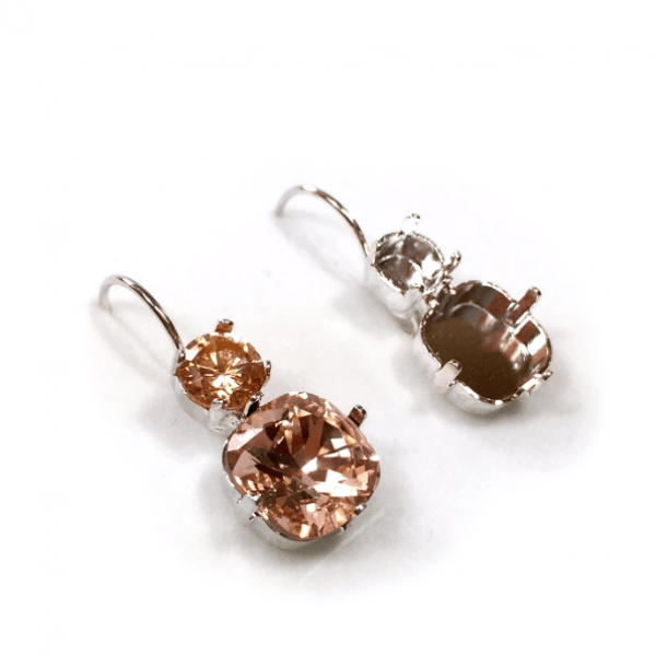 10mm 4470 Swarovski Leverback Earrings, Choose your options