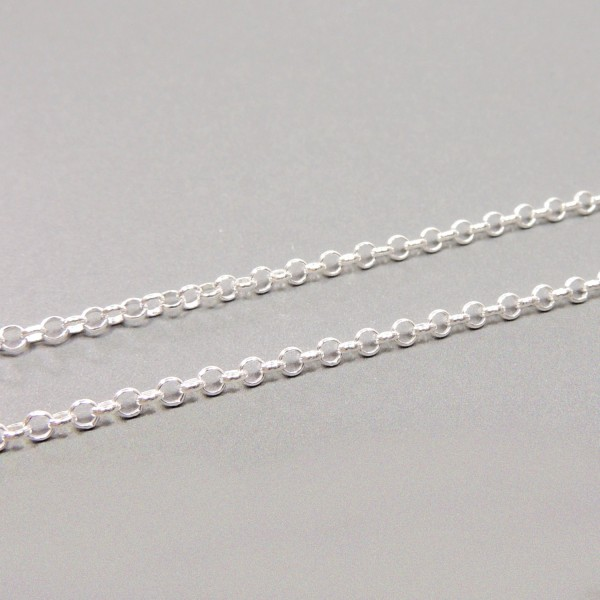 2mm Sterling Silver Rolo Chain