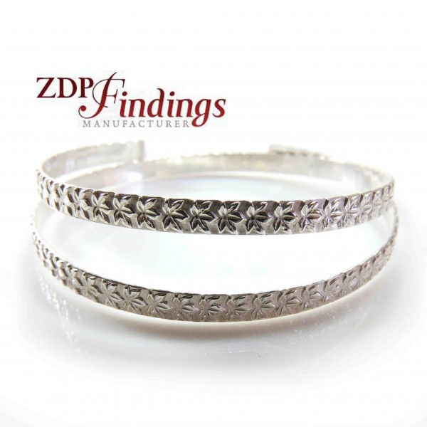 12 Inch Gallery Wire 935 Sterling Silver , 4.2 x 0.8mm