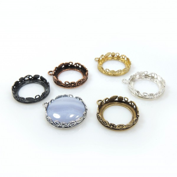 18mm Round Bezel fit Swarovski 1122