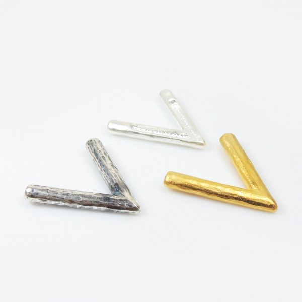 40X37mm Triangle Fashion Decorative Component