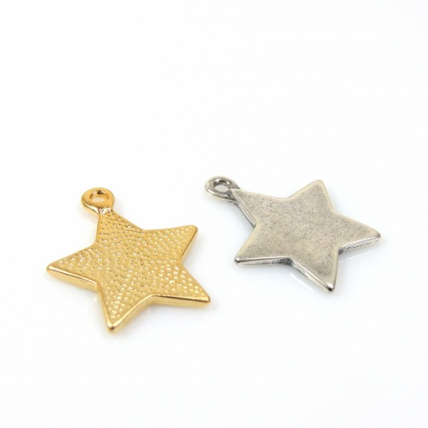 26x11mm Star Pendant Decorative component