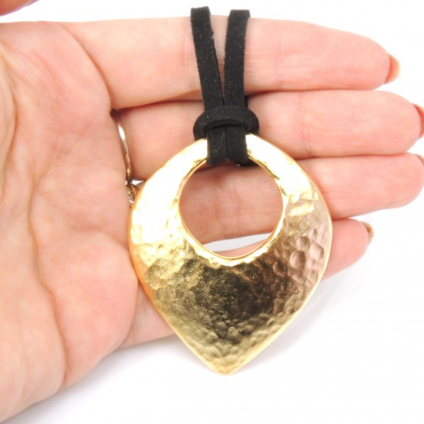 Large 55mm Fashion Decorative Hammered Pendant