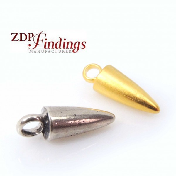 13mm Bullet Army Military Pendant Charm