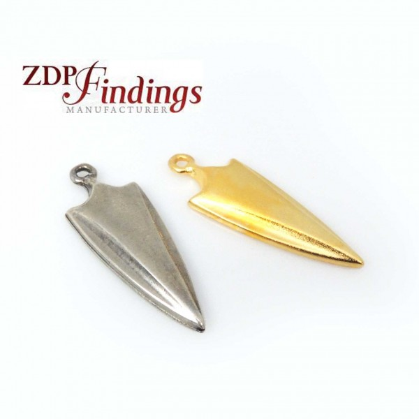 Large 35mm Dagger Pendant Charm