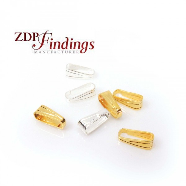 Brass Plated Simple Bail Pinch 4x10mm