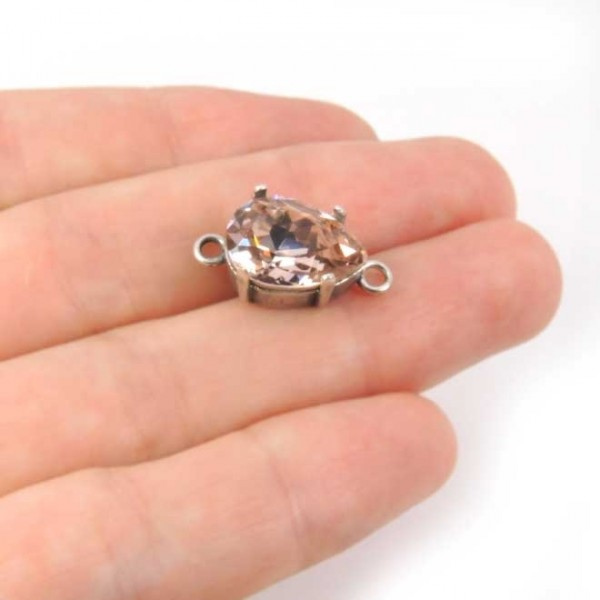Pear14x10mm Connector fit Swarovski 4320