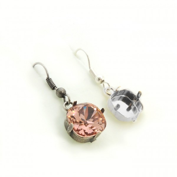 10mm 4470 Swarovski Ear Wire Earrings