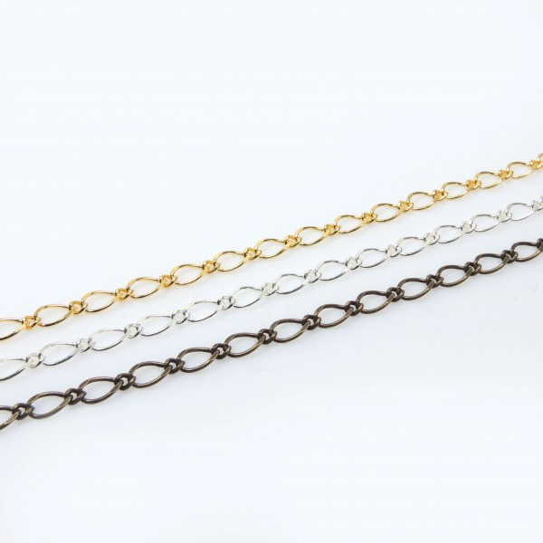 2Meters Links 5mm Brass Chain