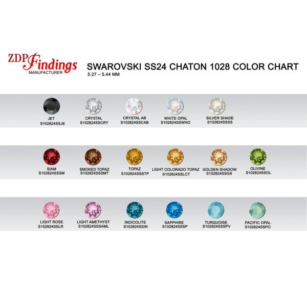 ss24 1088 Swarovski Chaton, Choose your color