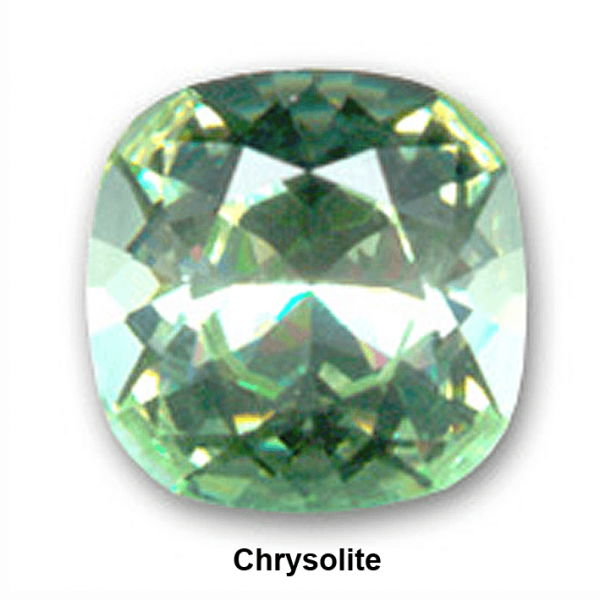 8mm 4470 Swarovski Square (cushion), Choose your color-Chrysolite
